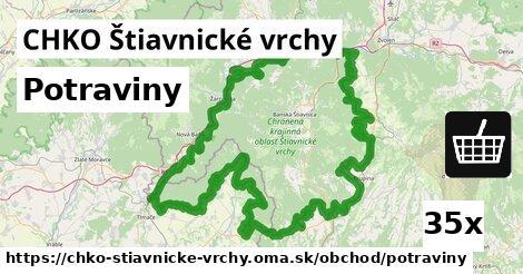 ilustračný obrázok k Potraviny, CHKO Štiavnické vrchy
