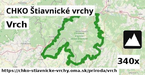 ilustračný obrázok k Vrch, CHKO Štiavnické vrchy