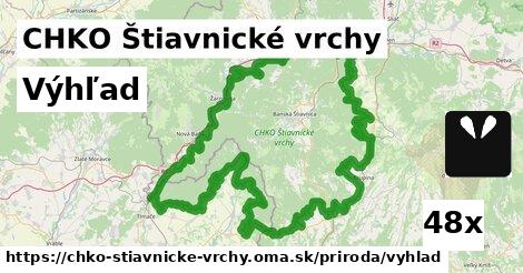 ilustračný obrázok k Výhľad, CHKO Štiavnické vrchy