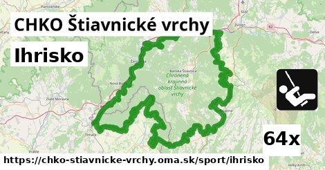 ihrisko v CHKO Štiavnické vrchy