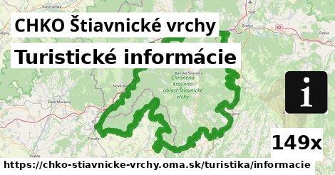 ilustračný obrázok k Turistické informácie, CHKO Štiavnické vrchy