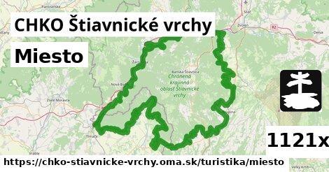 miesto v CHKO Štiavnické vrchy