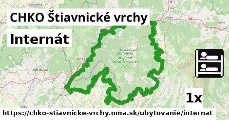 ilustračný obrázok k Internát, CHKO Štiavnické vrchy