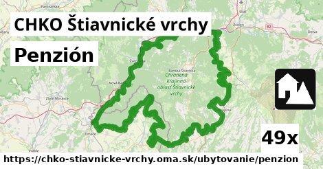 ilustračný obrázok k Penzión, CHKO Štiavnické vrchy
