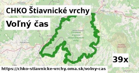 voľný čas v CHKO Štiavnické vrchy