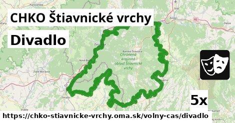 ilustračný obrázok k Divadlo, CHKO Štiavnické vrchy