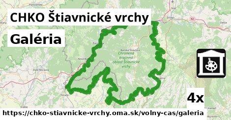 ilustračný obrázok k Galéria, CHKO Štiavnické vrchy