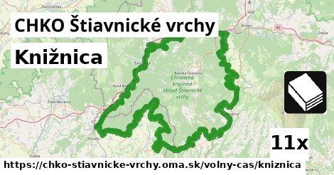 knižnica v CHKO Štiavnické vrchy