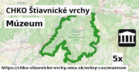 ilustračný obrázok k Múzeum, CHKO Štiavnické vrchy