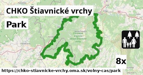 park v CHKO Štiavnické vrchy