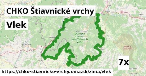 ilustračný obrázok k Vlek, CHKO Štiavnické vrchy