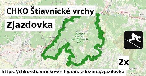 ilustračný obrázok k Zjazdovka, CHKO Štiavnické vrchy