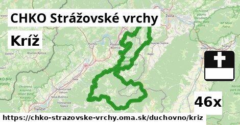 ilustračný obrázok k Kríž, CHKO Strážovské vrchy