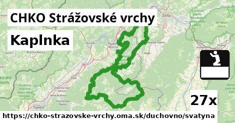 ilustračný obrázok k Kaplnka, CHKO Strážovské vrchy