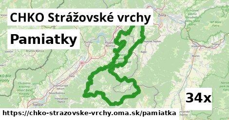 pamiatky v CHKO Strážovské vrchy