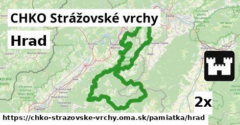 ilustračný obrázok k Hrad, CHKO Strážovské vrchy