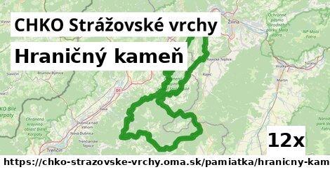 ilustračný obrázok k Hraničný kameň, CHKO Strážovské vrchy