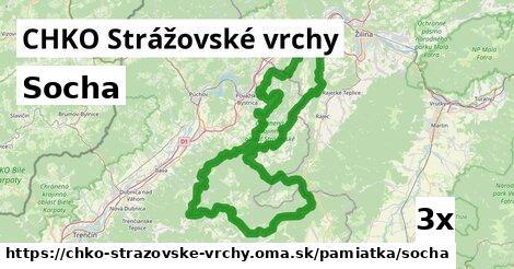 ilustračný obrázok k Socha, CHKO Strážovské vrchy