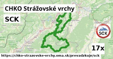 SCK v CHKO Strážovské vrchy