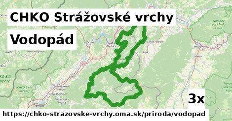 vodopád v CHKO Strážovské vrchy