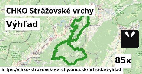 výhľad v CHKO Strážovské vrchy