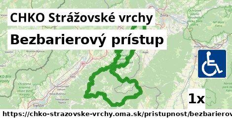 ilustračný obrázok k Bezbarierový prístup, CHKO Strážovské vrchy
