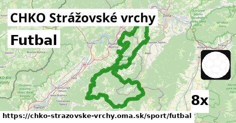 ilustračný obrázok k Futbal, CHKO Strážovské vrchy