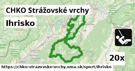 ihrisko v CHKO Strážovské vrchy