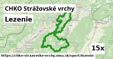 ilustračný obrázok k Lezenie, CHKO Strážovské vrchy