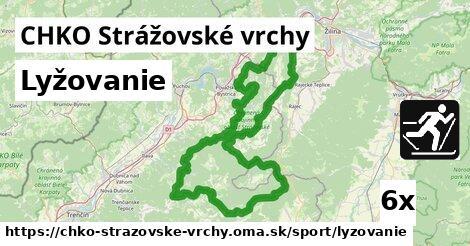 ilustračný obrázok k Lyžovanie, CHKO Strážovské vrchy
