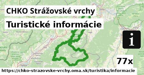 ilustračný obrázok k Turistické informácie, CHKO Strážovské vrchy