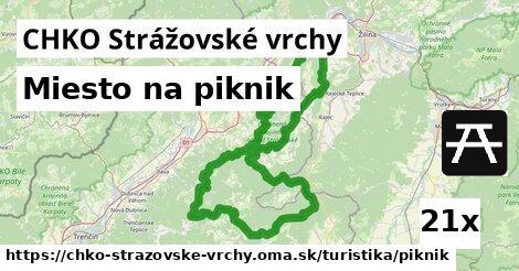 miesto na piknik v CHKO Strážovské vrchy