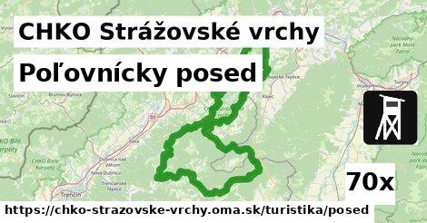 ilustračný obrázok k Poľovnícky posed, CHKO Strážovské vrchy