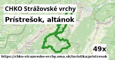 ilustračný obrázok k Prístrešok, altánok, CHKO Strážovské vrchy