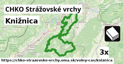 knižnica v CHKO Strážovské vrchy