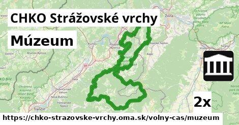 ilustračný obrázok k Múzeum, CHKO Strážovské vrchy