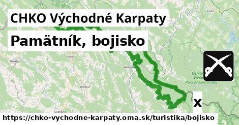 ilustračný obrázok k Pamätník, bojisko, CHKO Východné Karpaty