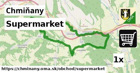 ilustračný obrázok k Supermarket, Chmiňany