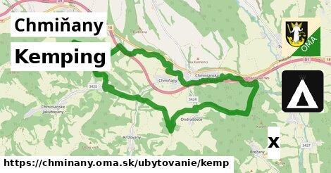 kemping v Chmiňany