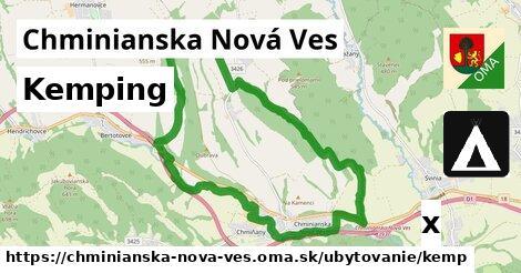 kemping v Chminianska Nová Ves