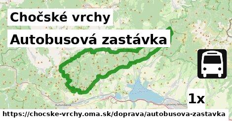 ilustračný obrázok k Autobusová zastávka, Chočské vrchy