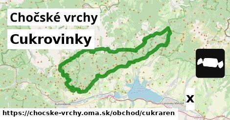 ilustračný obrázok k Cukrovinky, Chočské vrchy