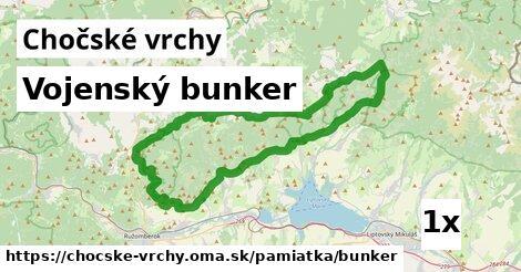 ilustračný obrázok k Vojenský bunker, Chočské vrchy