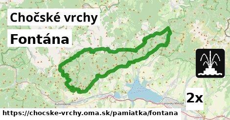 ilustračný obrázok k Fontána, Chočské vrchy