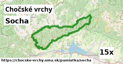 ilustračný obrázok k Socha, Chočské vrchy