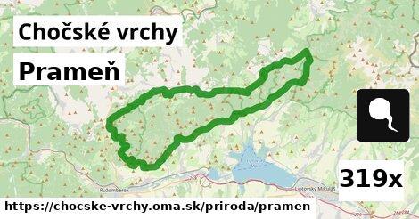 ilustračný obrázok k Prameň, Chočské vrchy