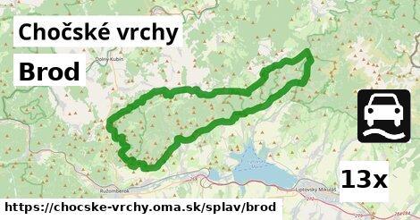 ilustračný obrázok k Brod, Chočské vrchy