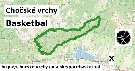 ilustračný obrázok k Basketbal, Chočské vrchy