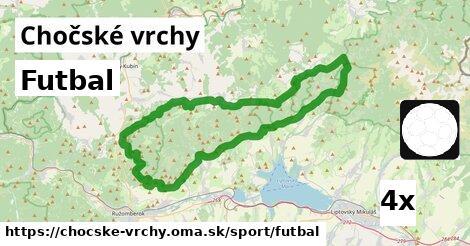 ilustračný obrázok k Futbal, Chočské vrchy