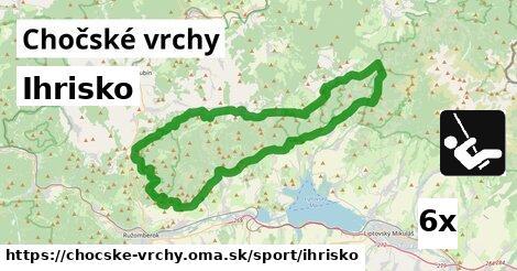ilustračný obrázok k Ihrisko, Chočské vrchy